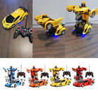 1:18 Transformer RC Robot Car Remote Control 2 IN 1 Kids Boys Toy B-Day Gift Toy