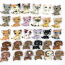 10 Pcs/lot Littlest pet shop lot cats and DACHSHUND dogs LPS toy girls Rare toys