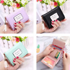 Womens Clutch Leather Mini Wallet Card Coin Small Purse Trifold Wallets US FAST image