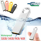 USB2.0 Flash Drive Pendrive USB memory stick 32GB Metal Ring On Key Thumb PC lot