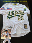NEW Mark McGwire Oakland Athletics A's Men's 1989 World Series Home Retro Jersey on Ebay