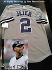 NEW Majestic Derek Jeter New York Yankees ROAD Captains Patch Jersey with Name on Ebay
