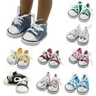 "Внешний вид - Doll Clothes fits American Girl Hot 18"" Canvas Sneakers Gym Shoes Accessory New"