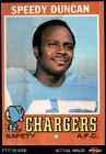 1971 Topps #148 Speedy Duncan Chargers GOOD $0.99 USD on eBay