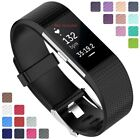 For Fitbit Charge 2 Replacement Silicone Watch Strap Band Men's Women's