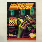 Nintendo Power Volume 24 Vintage Magazine Poster May1991 Vice Project Doom NES