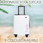 Love Island Personalised Name Sticker For Suitcase Holiday 2019. 9 Colours Large