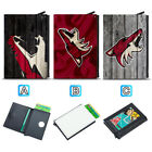 Arizona Coyotes Leather Credit ID Card Case Holder RFID Protector Wallet $11.99 USD on eBay
