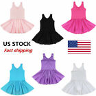Kyпить US Girls Ballet Dance Dress Gymnastics Tutu Leotard Tutu Skirt Dancewear Costume на еВаy.соm