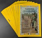 National Geographic Magazines - Complete Year - 12 Issues   **Pick The Year**