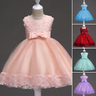 Flower Girl Dress Princess Wedding Party Formal Cocktail Birthday Party Gown