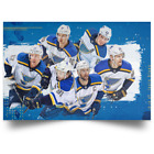 ST. Louis Blues Stanley Cup Champion Poster High Quality Print 24x36 Full Size $21.95 USD on eBay