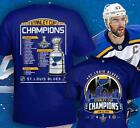 2019 Stanley Cup St.Louis Blues Final Champions T-Shirt All size $23.99 USD on eBay