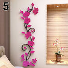 Removable Wall Sticker 3d Flower Diy Decor Mural Home Bedroom Accessories Kindly