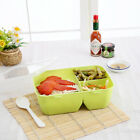 3 Colors Portable Bento Lunch Box Storage Picnic Microwave Boxes Food Con OIB