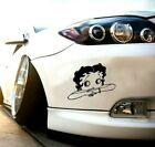 betty boop cuty , girly sticker vinyl decal for car and others FINISH GLOSSY $5.11 CAD on eBay