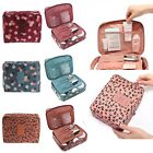 Womens Cosmetic Make Up Bag Travel Wash Holder Pouch Capacity Toiletry Organizer