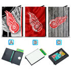 Detroit Red Wings Leather Credit ID Card Case Holder RFID Protector Wallet $11.99 USD on eBay