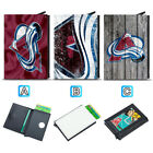 Colorado Avalanche Leather Credit ID Card Case Holder RFID Protector Wallet $11.99 USD on eBay