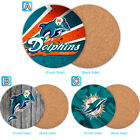 Miami Dolphins Wood Coaster Cup Mat Coffee Drink Mug Pad $4.69 USD on eBay