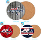 Washington Capitals Wood Coaster Cup Mat Coffee Drink Mug Pad $4.69 USD on eBay