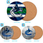 Vancouver Canucks Wood Coaster Cup Mat Coffee Drink Mug Pad $4.69 USD on eBay