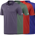 Adidas Golf Men's Essential 2 Color Pencil Stripe Polo Shirt, Brand New