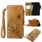 For i Phone XS X 8 Plus 7 Plus 6S 5S Magnetic Flip Wallet Leather Case Cover