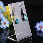 1Pc Earrings Necklace Pendant Display Stand Rack Accessories Jewelry Holder GG