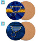 St. Louis Blues Wood Coaster Cup Mat Coffee Drink Mug Pad $3.99 USD on eBay
