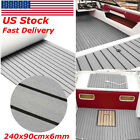 USA Large Size Deluxe Marine Flooring Faux Teak EVA Foam Boat Decking Sheet Mat фото