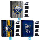 Buffalo Sabres Flip Case For iPad Mini 1 2 3 4 Air 5 6 Pro 9.7 10.5 12.9 $21.99 USD on eBay