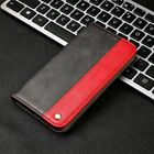 For Samsung A3 A5 A6 A7 M20 Retro Slim Magnetic Flip Stand Card Slot Case Cover