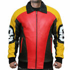 8 Ball Seinfeld Puddy Patrick Warburton Bomber Leather Jacket $89.99 USD on eBay