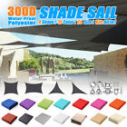 Waterproof Sun Shade Sail Rectangle/Triangle Patio Canopy Cover UV Block  🔥