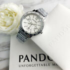 2019 New Pandoras Watch Stainless Steel Calendar Woman&Men's Watch