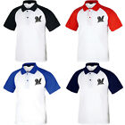 KH1001 Milwaukee Brewers Raglan Polo T-Shirts Baseball Collar Tee Uniform 0107 on Ebay