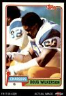 1981 Topps #447 Doug Wilkerson Chargers NC Central 8 - NM/MT $0.99 USD on eBay