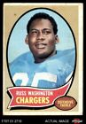 1970 Topps #206 Russ Washington Chargers VG $0.99 USD on eBay