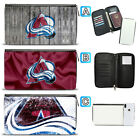 Colorado Avalanche Leather Travel Passport Holder Organizer Wallet $15.99 USD on eBay