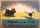 Angus and the Cat by Marjorie Flack / Doubleday, Doran / 1931 1st Ed.