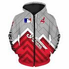 CLEVELAND INDIANS Hoodie Hooded Pullover BASEBALL Team Size S-5XL 2019 NEW on Ebay