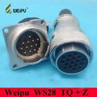 Original WEIPU WS28 2 3 4 7 10 12 16 17 20 24 26 Pin Connector TQ Z Female Plug