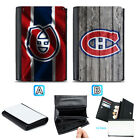 Montreal Canadiens Leather Women Wallet Coin Purse Holder Handbag $14.99 USD on eBay
