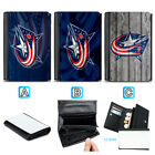 Columbus Blue Jackets Leather Women Wallet Coin Purse Holder Handbag $14.99 USD on eBay