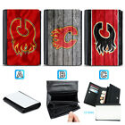 Calgary Flames Leather Women Wallet Coin Purse Holder Handbag $13.99 USD on eBay