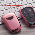 For Cadillac ATX CTS XTS XT4 XT5 CT6 Escalade Car Key Fob Case Cover Accessories