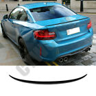 Real Carbon Fiber Rear Spoiler Wings Refit For 2014-2018 BMW 2 Series Coupe F22