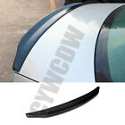 Real Carbon Fiber Rear Spoiler Empennage Refit Fit For Audi A4 B8 2009-2012