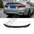 Real Carbon Fiber Rear Spoiler Wings Refit For 2005-2011 Year BMW 3 Series E90
